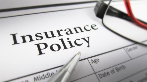 Picture of insurance policy document